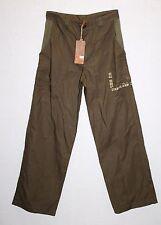 TIMBERLAND Designer Girls Khaki Loose Fit Cargo Jeans Pants Size 14 BNWT #SH72