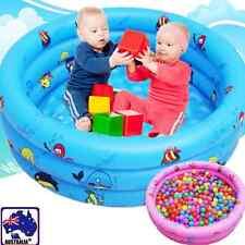 3-Ring Kids Baby Inflatable Swimming Pool Bathtub Paddling Swim Tub Beach BIBA31