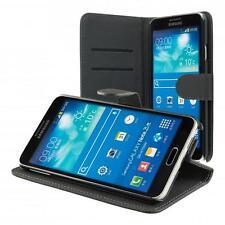 Samsung Galaxy Note 3 Neo N7505 portafoglio custodia nero wallet case cover