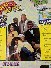 Vintage Kellogs Fresh Prince of Bell Air Will Smith 1993 Raisin Bran Cereal Box