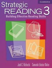 Strategic Reading 3 Student's book : Building Effective Reading Skills