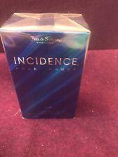 INCIDENCE Pour Homme by Yves Sistelle 100 ml/3.3 oz Eau de Toilette Spray Sealed