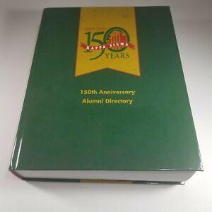 Kappa Sigma 150th Anniversary Alumni Directory 1869 - 2019