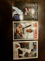 Mike Trout Rookie Cards Lot Of 3