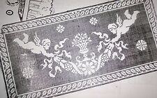 362 Vintage FILET ANGELS SCARF Pattern to Crochet (Reproduction)