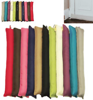 Luxury Draught Excluder Door or Window Draft Guard Energy Saver Various Colours