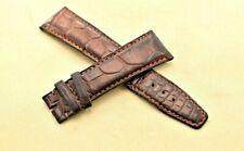 IWC Authentic Watch Strap Alligator Honey Brown 31567 OAX 22mm x 18mm Used!