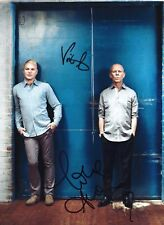 Erasure Andy Bell & Vince Clarke signed photo / autograph