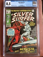 Silver Surfer 16 CGC 8.5 White Pages Buscema Mephisto GGA OO SWEET New Case