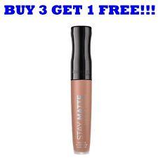 Rimmel Lipgloss Stay Matte 5.5ml Latte To Go 710
