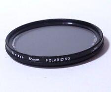 Lens Filter Vivitar 55mm Polarizing PL Wide Angle Japan  Free SHipping Worldwide