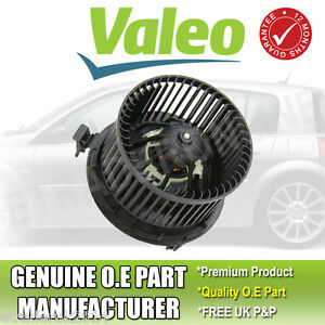 Renault Megane Mk2 1.5 dCi Heater Blower Motor Fan 2002-2008 Valeo Part With AC
