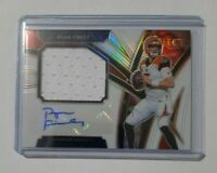 RYAN FINLEY 2019 PANINI SELECT ROOKIE PATCH AUTO White PRIZM /35 Bengals SP RPA