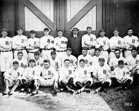1914 Boston Braves Team Photo 8X10 - Maranville Evers #3  Buy Any 2 Get 1 FREE