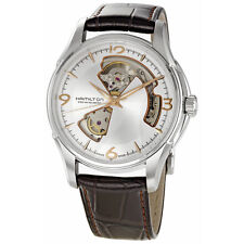 Hamilton Jazzmaster Brown Leather Mens Self Winding Automatic Watch H32565555-AU