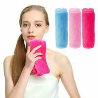 Reusable Microfiber Cloth Makeup Face Cleansing Pads Remover Towel