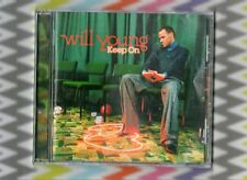 """Will Young New Sealed """"Keep On"""" CD+ All I Want/Think/HappinessWho Am I/Home"""