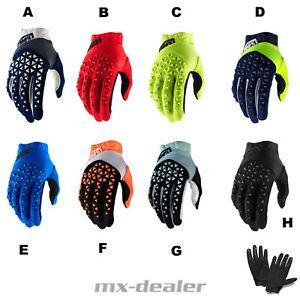 2021 100% Prozent Airmatic Glove Handschuhe MTB DH MX BMX Motocross Enduro Quad