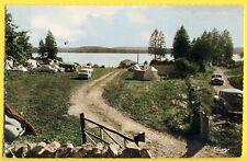 cpsm LAC des SETTONS (NIèvre) CAMPING PLAGE du MIDI Toile de Tentes Automobiles