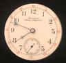 Vintage Waltham PS Bartlett Model 1883 Pocket Watch Movement Runs Ticks 18s USA