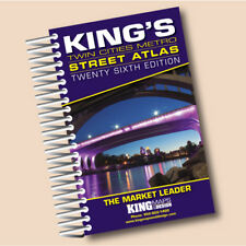 Kings Twin Cities Street Atlas - 2019 Edition Spiral-bound