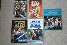 Lot of 5 Star Wars Chapter  Books