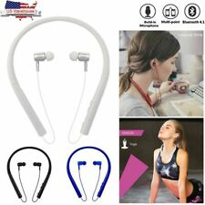 New listing Bluetooth Headset Neckband Earphone with Mic Sport Hands-free for iPhone Android