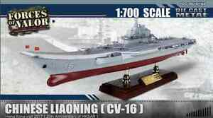 Porte-Avions Armée Chinois Liaoning 1:700 Forces of Valor