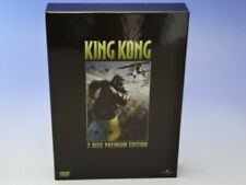 KING KONG Premium Edition JAPAN 2 DVD+Booklet