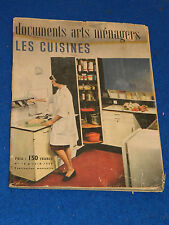 1959 documents ARTS MENAGERS 16 les cuisines KITCHEN küche ANCIEN MEUBLE vintage