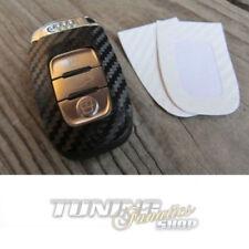 Llave Carbono Diseño Decoración Lámina Adhesivo en Blanco para Audi Nuevo