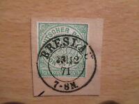 Altdeutschland Norddeutscher Postbezirk Mi.Nr. 2u gestempelt