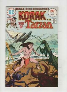 KORAK SON OF TARZAN #58 VF/NM, Joe Kubert cover, Russ Manning art, 1975
