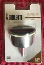Bialetti Brikka funnel 4cup  Espresso Maker 1st edition older model