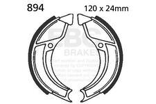 pour CASAL Mofas Batterie diamètre 110mm EBC AVANT Set mâchoire de frein