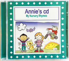 Nursery Rhymes CD   PERSONALISED MY NURSERY RHYMES CD GIFT FOR CHILDREN & BABIES