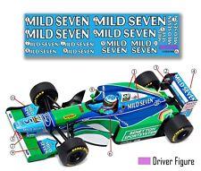 "GPD DECALS F1 1/18 1994 Benetton B194 Schumacher Brazil GP ""Race Livery Fill-In"""