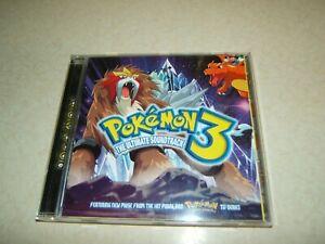 POKEMON 3   THE ULTIMATE SOUNDTRACK     CD ALBUM 2001