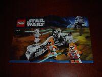 LEGO Star Wars 7913: Clone Trooper Battle Pack Instruction Manual