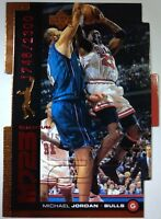 Michael Jordan MJ23 1999 Upper Deck UD Quantum Die Cut QMM28 1748/2300 Bulls