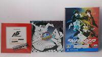 PS VITA Persona Dancing Deluxe Pack & Persona4 Dancing 2pcs P3D P4D P5D Japan