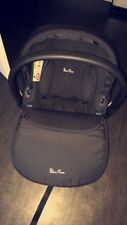 Black silver cross simplicity car seat only been used as a spare
