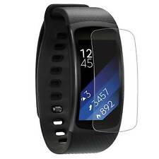 [4-PACK] Samsung Gear Fit2 / Fit 2 - Clear FULL COVER Screen Protector Film