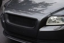 VOLVO S40 V50 2008 - 2012 FACELIFT - MESH Sport Grill Grille ALL MATTE BLACK ABS
