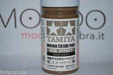 DIORAMA TEXTURE PAINT SOIL EFFECT DARK TAMIYA 87109