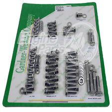 CHEV SB 283 307 327 350 400 ENGINE BOLT SET STAINLESS STEEL GARDNER WESCOTT USA