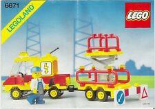 Lego Town 6671 Utility Repair Lift LEGOLAND Classic -  New SEALED