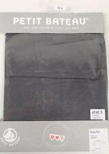 PETIT BATEAU Womens Gray Turtleneck 61696 Sz 12 Years/ XS $69