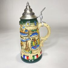 New~King-Werk Handcrafted/Hand-painted German Stein Limited Edition~Nr.293~W/Coa