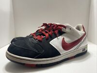 Nike Air Prestige Men's Shoes Sneakers Low Athletic Red Black 318973-165 SZ 12